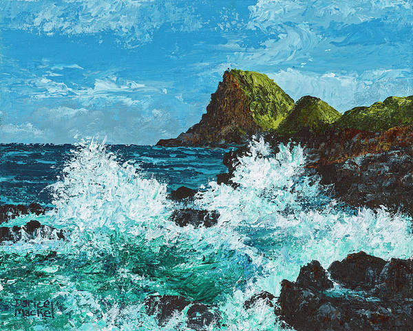 Painting - Kahekili Leap by Darice Machel McGuire