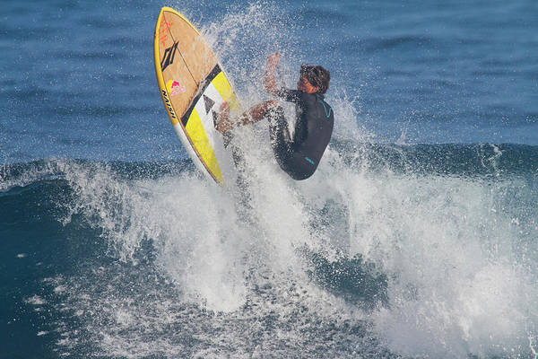 Wall Art - Photograph - Kai Lenny A Famous Paddle Surfer by Panoramic Images