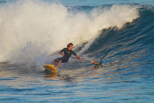 Wall Art - Photograph - Kai Lenny A Famous Surfer Surfing by Panoramic Images