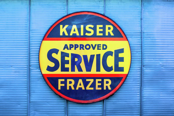 Wall Art - Photograph - Kaiser Frazer Approved Service by Todd Klassy