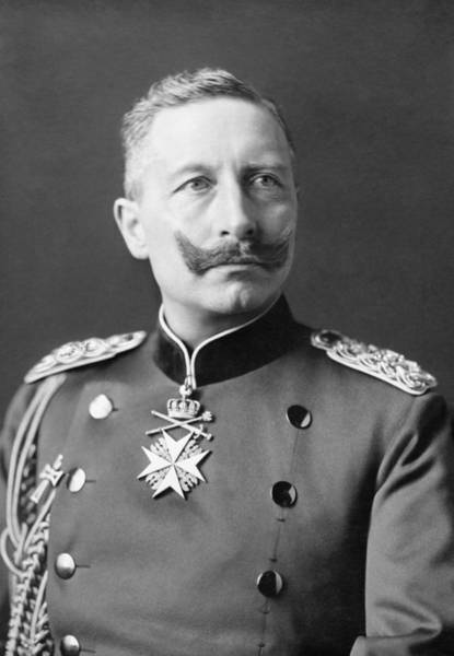 Wall Art - Photograph - Kaiser Wilhelm II Portrait - 1902 by War Is Hell Store