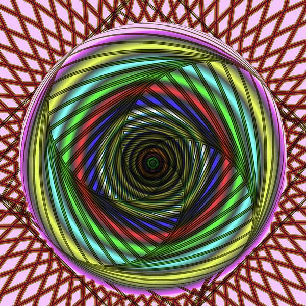 Digital Art - Kaleido Magic by Mario Carini