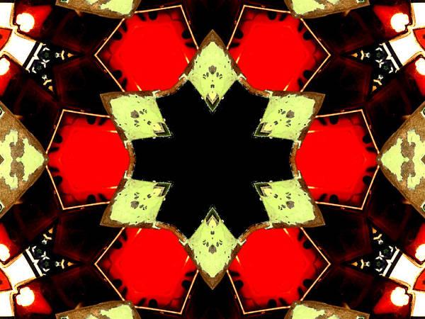 Digital Art - Kaleidoscope Abstract 10 by Artist Dot