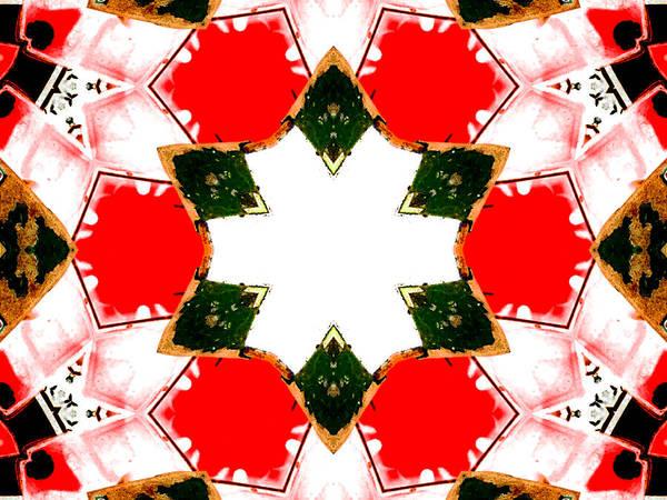 Digital Art - Kaleidoscope Abstract 10a by Artist Dot