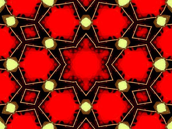 Digital Art - Kaleidoscope Abstract 15 by Artist Dot