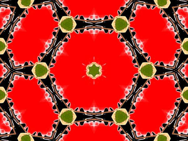 Digital Art - Kaleidoscope Abstract 16a by Artist Dot