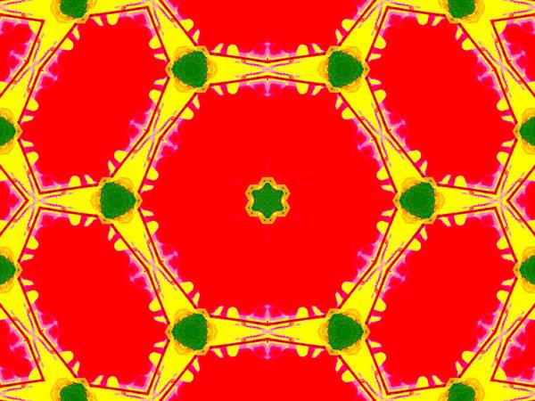 Digital Art - Kaleidoscope Abstract 16b by Artist Dot