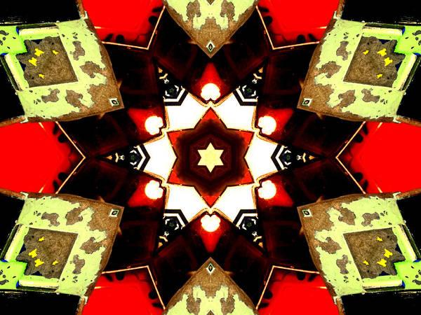 Digital Art - Kaleidoscope Abstract 9 by Artist Dot