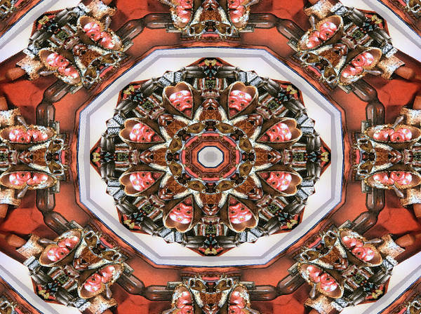 Digital Art - Kaleidoscope Of Apple Still Life by Michele A Loftus