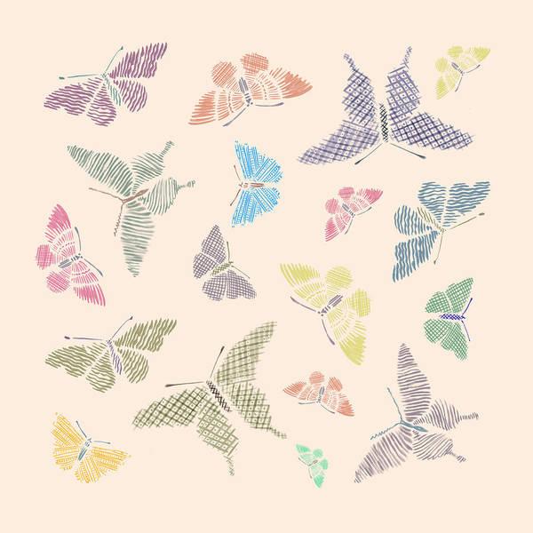 Photograph - Kaleidoscope Of Butterflies by Mark Rogan