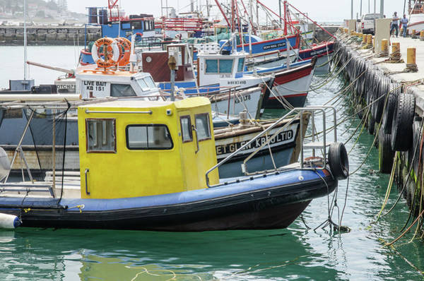Photograph - Kalk Bay Fishing Boats by Rob Huntley