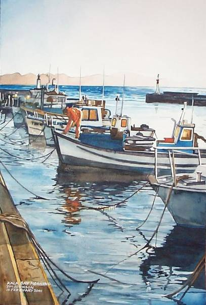 Painting - Kalk Bay Morning by Tim Johnson
