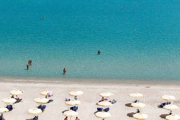 Kallithea Sunny Beach And Summer Resort Art Print