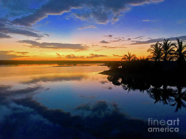 Andros Photograph - Kamalame Sunset by Carey Chen