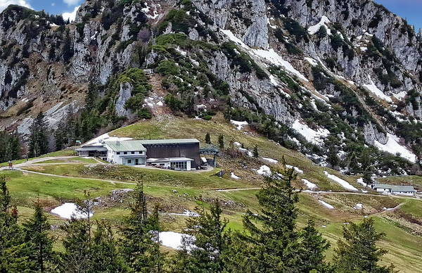 Photograph - Kampenwandbahn Mountain Station by Anthony Dezenzio