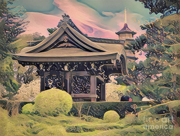 Photograph - Kanagawa - The Japanese Garden by Leigh Kemp