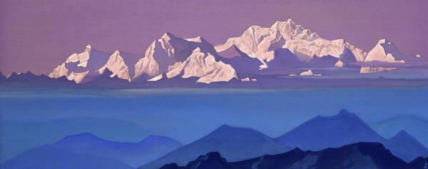 Wall Art - Painting -  Kanchenjunga, 1935-1936 by Nikolai Konstantinovich Roerich