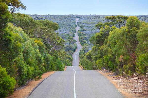 Beautiful Landscape Wall Art - Photograph - Kangaroo Island Road South Australia by Rodrigo Lourezini