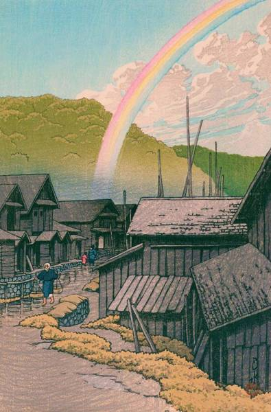 Wall Art - Painting - Kanitamachi - Top Quality Image Edition by Kawase Hasui