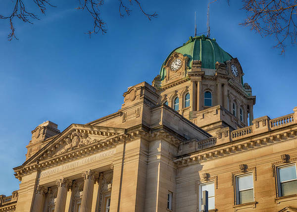 Wall Art - Photograph - Kankakee County Courthouse - #2 by Stephen Stookey