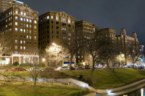 Country Club Plaza Photograph - Kansas City Apartment Buildings by Chris Pritchard