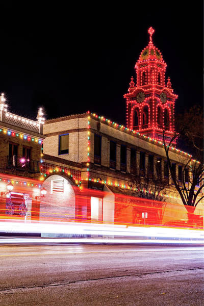 Photograph - Kansas City Country Club Plaza Lights by Gregory Ballos