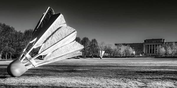 Photograph - Kansas City Shuttlecocks Infrared Panoramic Landscape by Gregory Ballos