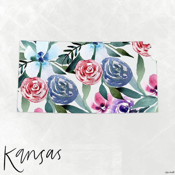 Wall Art - Mixed Media - Kansas by Katie Doucette