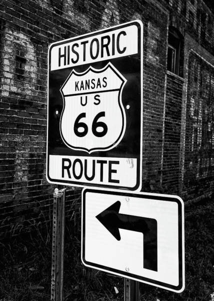 Wall Art - Photograph - Kansas Route 66 by Stephen Stookey