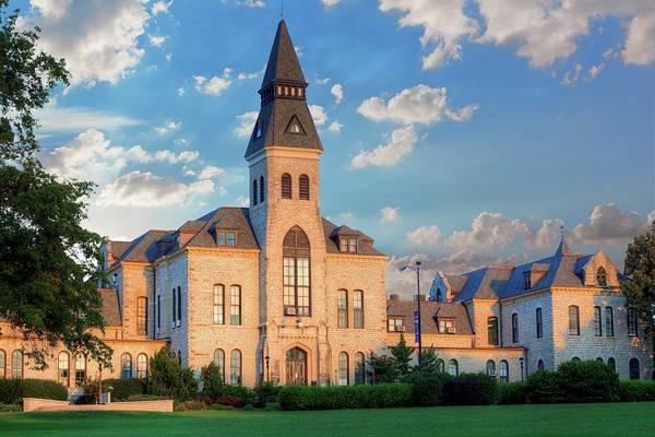 Kansas State University Photograph - Kansas State Anderson Hall by JC Findley