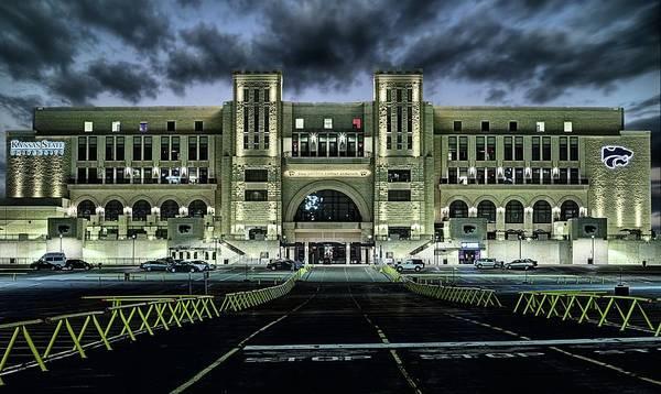 Kansas State University Photograph - Kansas State University Nights by JC Findley
