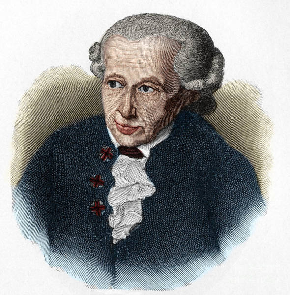 Wall Art - Drawing - Kant, 1724-1804 German Philosopher by European School