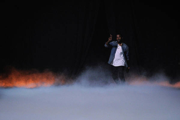 France Photograph - Kanye West Show  Runway - Paris Fashion by Pascal Le Segretain
