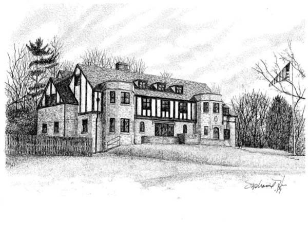 Kappa Delta Rho Fraternity House, Purdue, West Lafayette Art Print