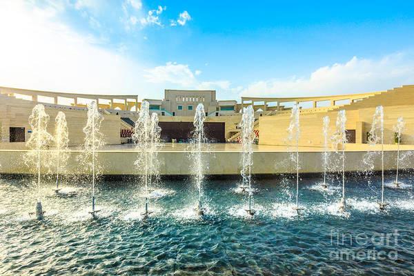 Photograph - Karara Amphitheater Fountains by Benny Marty