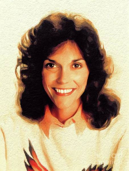 Wall Art - Painting - Karen Carpenter, Music Legend by John Springfield