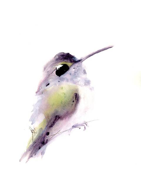 Painting - Karen's Hummer by Dawn Derman