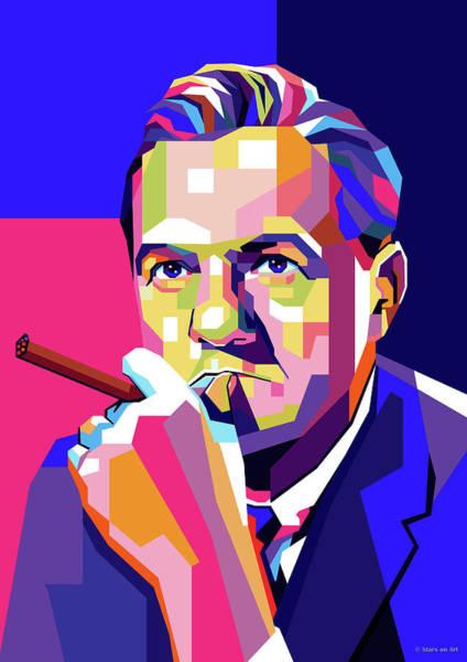 Desires Digital Art - Karl Malden by Stars on Art