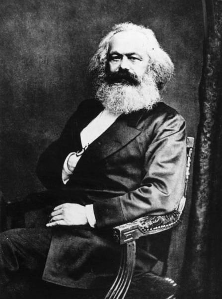 Human Interest Photograph - Karl Marx by Henry Guttmann Collection