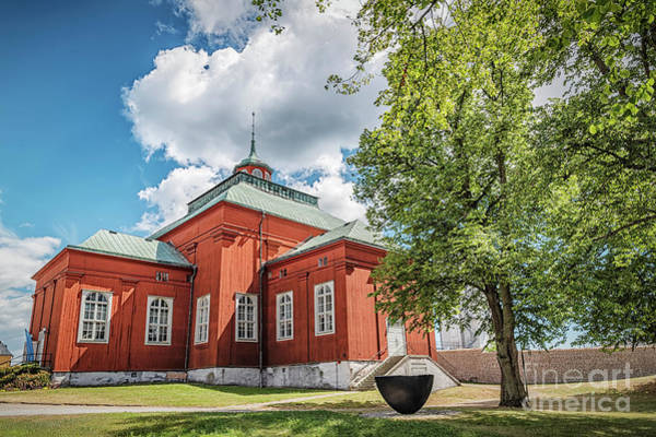 Wall Art - Photograph - Karlskrona Admiralty Wooden Church by Antony McAulay