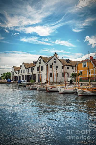 Wall Art - Photograph - Karlskrona Naval Museum Longships Building by Antony McAulay