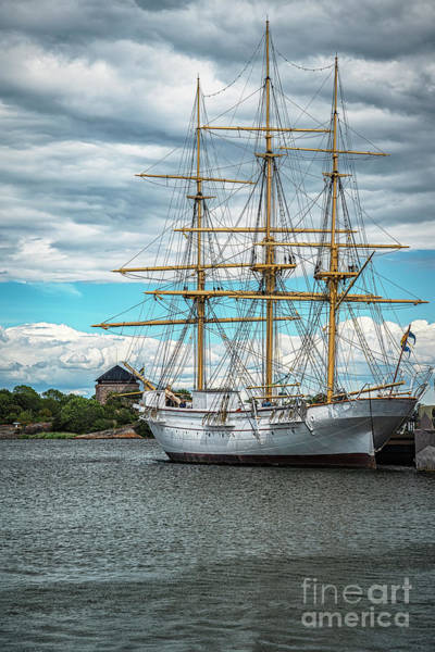 Wall Art - Photograph - Karlskrona Naval Museum Tallship Portrait by Antony McAulay