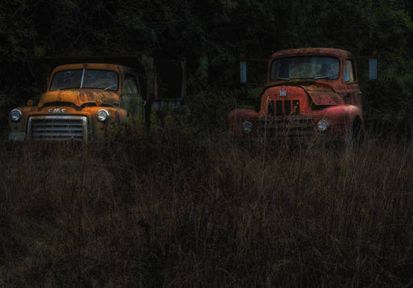 Photograph - Karly's Trucks by Thomas Hall