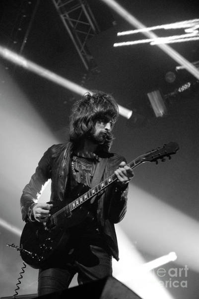 Photograph - Kasabian Photo 12 by Jenny Potter