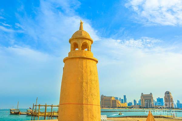 Photograph - Katara Beach Doha by Benny Marty