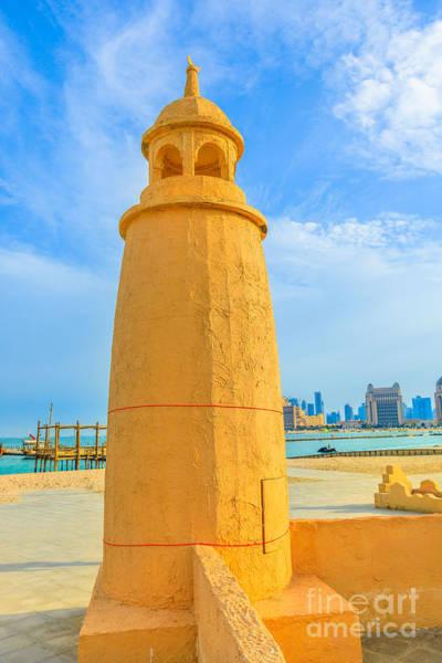 Photograph - Katara Beach In Doha by Benny Marty