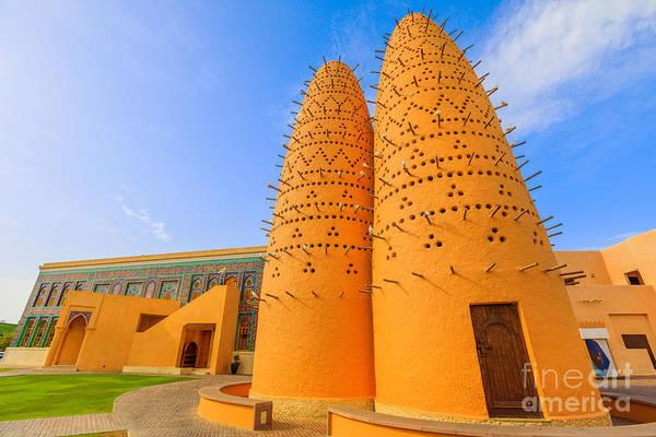 Photograph - Katara Mosque Doha by Benny Marty
