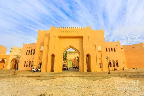 Photograph - Katara Village Entrance by Benny Marty