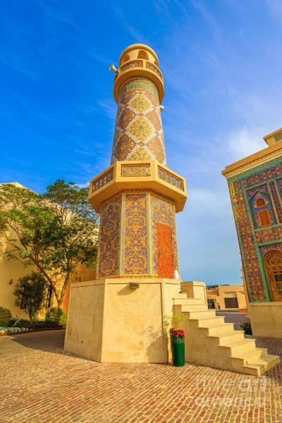 Photograph - Katara Village Minaret by Benny Marty