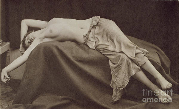 Wall Art - Photograph - Kate Manning, 1888, Platino Bromide Print by Edward Linley Sambourne